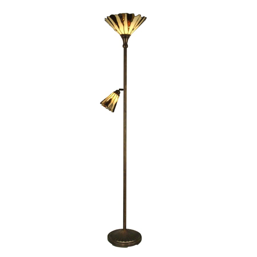 Portfolio 70-in Indoor Floor Lamp with Shade