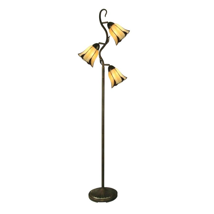 Portfolio 68-1/4-in Indoor Floor Lamp with Shade