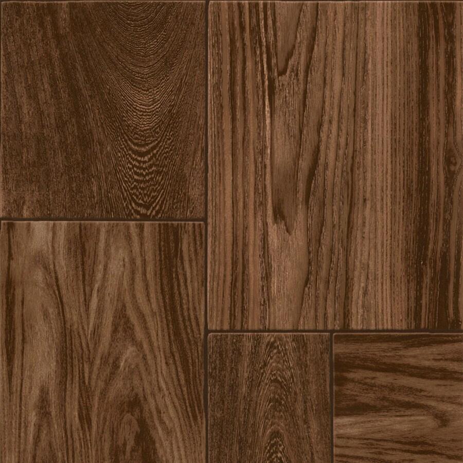 Congoleum 12-ft W Cinnabar Wood Low-Gloss Finish Sheet Vinyl