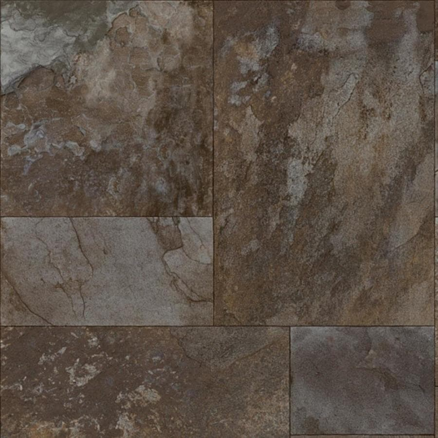 Congoleum 12-ft W Beluga Cavier Geometric Low-Gloss Finish Sheet Vinyl