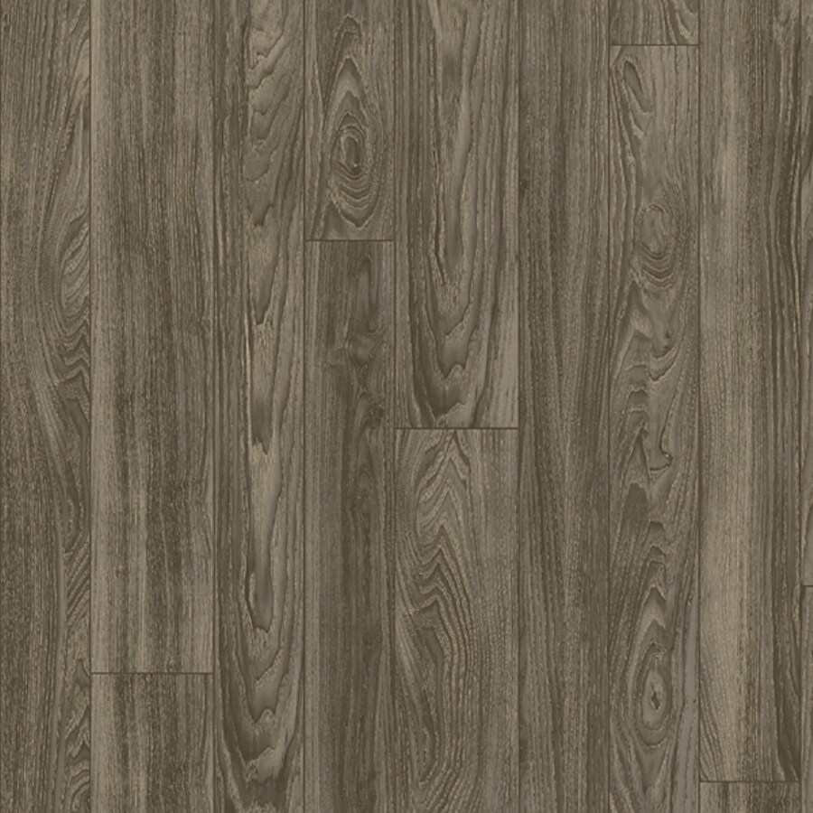 Congoleum 12-ft W Woodsmoke Wood Low-Gloss Finish Sheet Vinyl