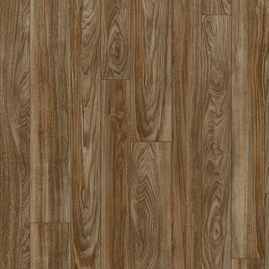 Congoleum 12-ft W Bark Wood Low-Gloss Finish Sheet Vinyl