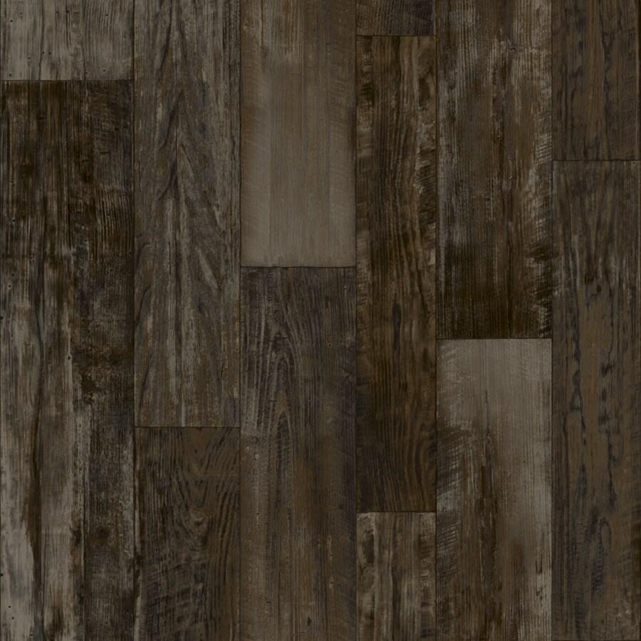 Congoleum 6-ft W Steel Wool Wood Low-Gloss Finish Sheet Vinyl