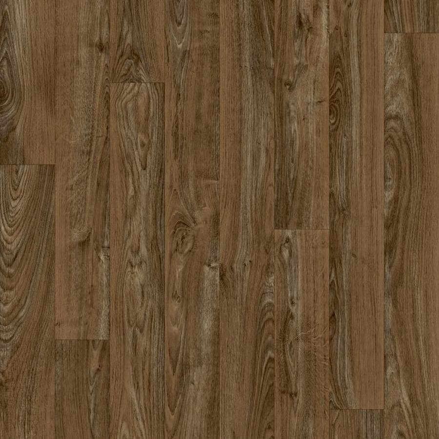 Shop congoleum 12 ft w mustang wood low gloss finish sheet for Congoleum vinyl flooring