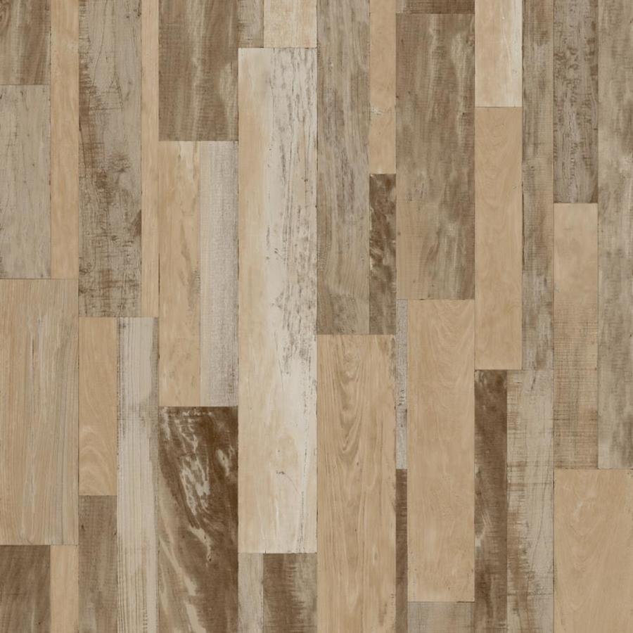 Congoleum 12-ft W Warm Driftwood Wood Low-Gloss Finish Sheet Vinyl