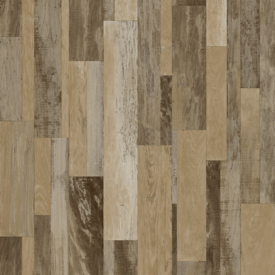 Congoleum 6-ft W Warm Driftwood Wood Low-Gloss Finish Sheet Vinyl