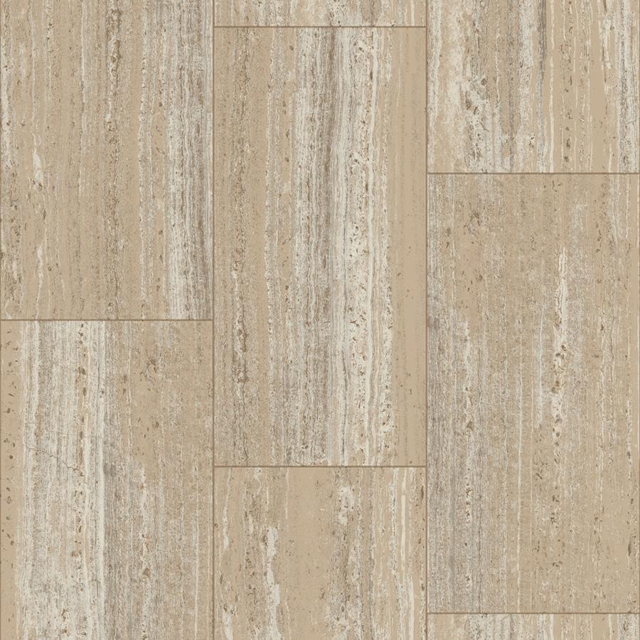 Shop congoleum traverstone 12 ft w beachcrest sand wood for Congoleum flooring
