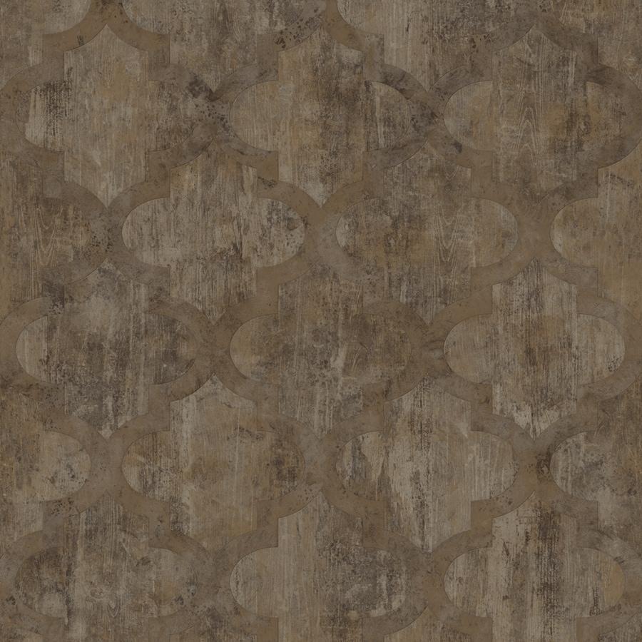 Congoleum 12-ft W Himalayan Trek Geometric Low-Gloss Finish Sheet Vinyl