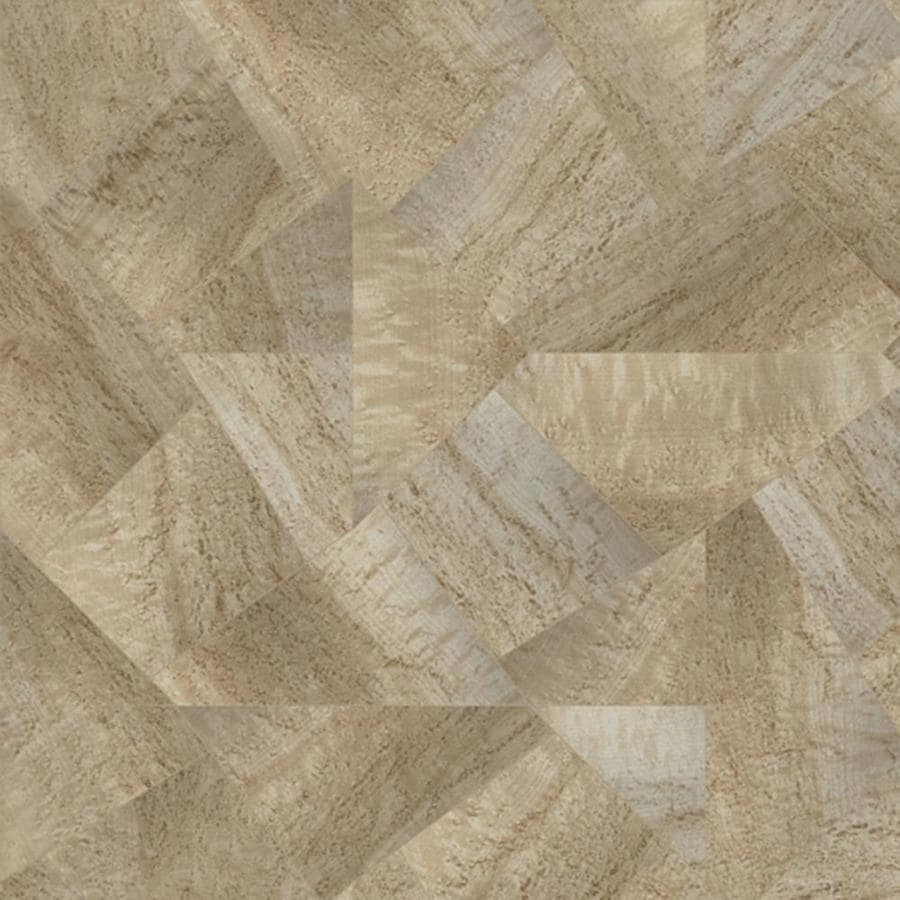 Shop congoleum 12 ft w paris rain geometric low gloss for Congoleum flooring
