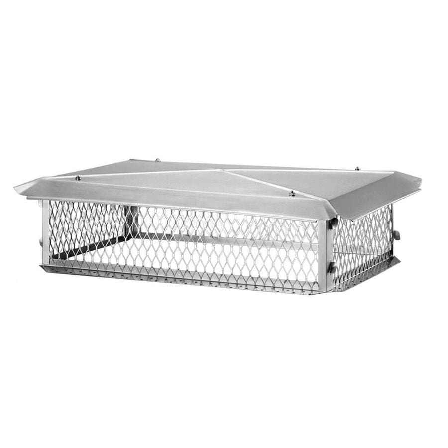 Shelter 14-in W x 14-in L Stainless Steel Square Chimney Cap