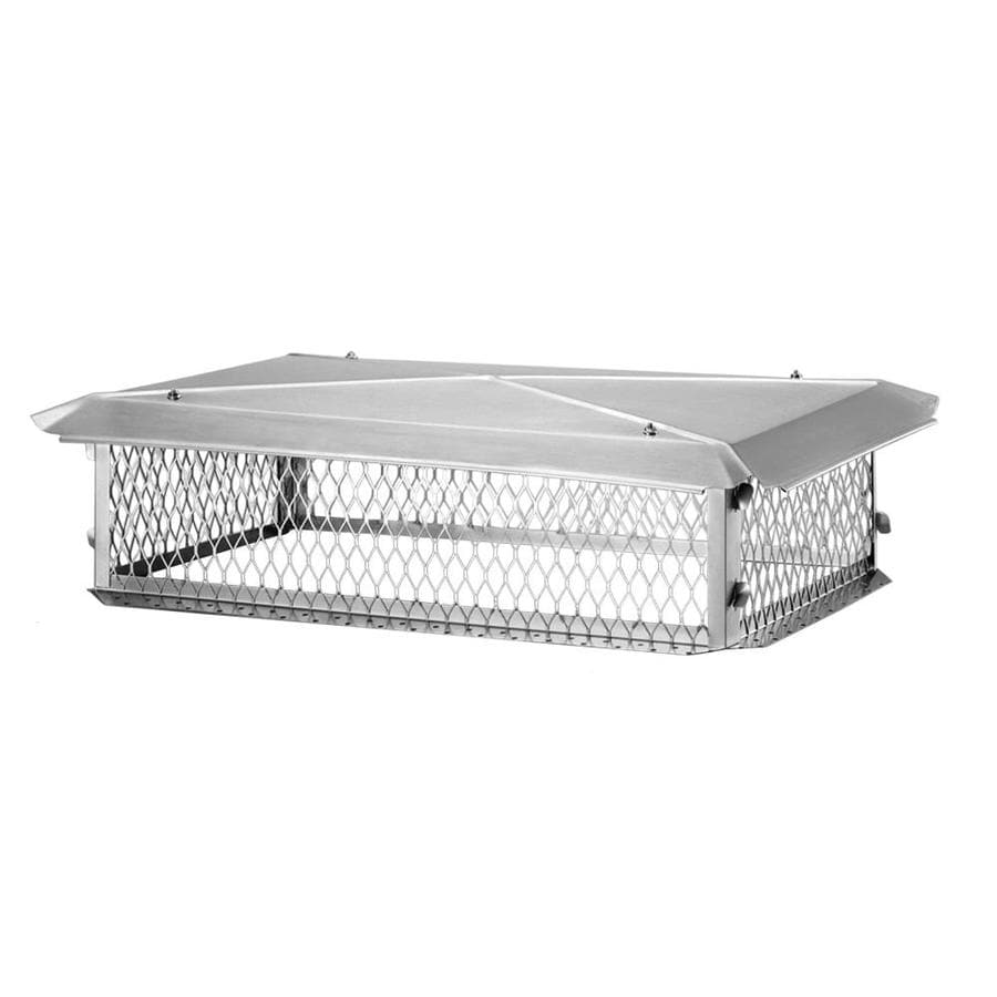 Shelter 17-in W x 17-in L Stainless Steel Square Chimney Cap