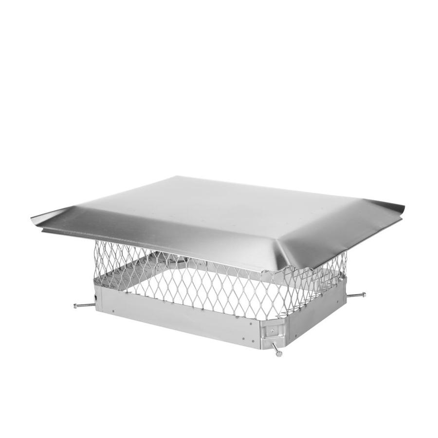 Shelter 13-in W x 18-in L Stainless Steel Rectangular Chimney Cap