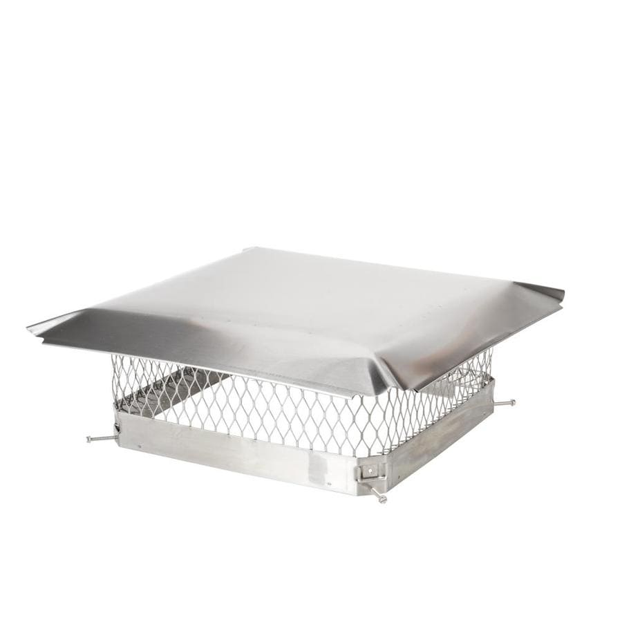 Shelter 18-in W x 18-in L Stainless Steel Square Chimney Cap