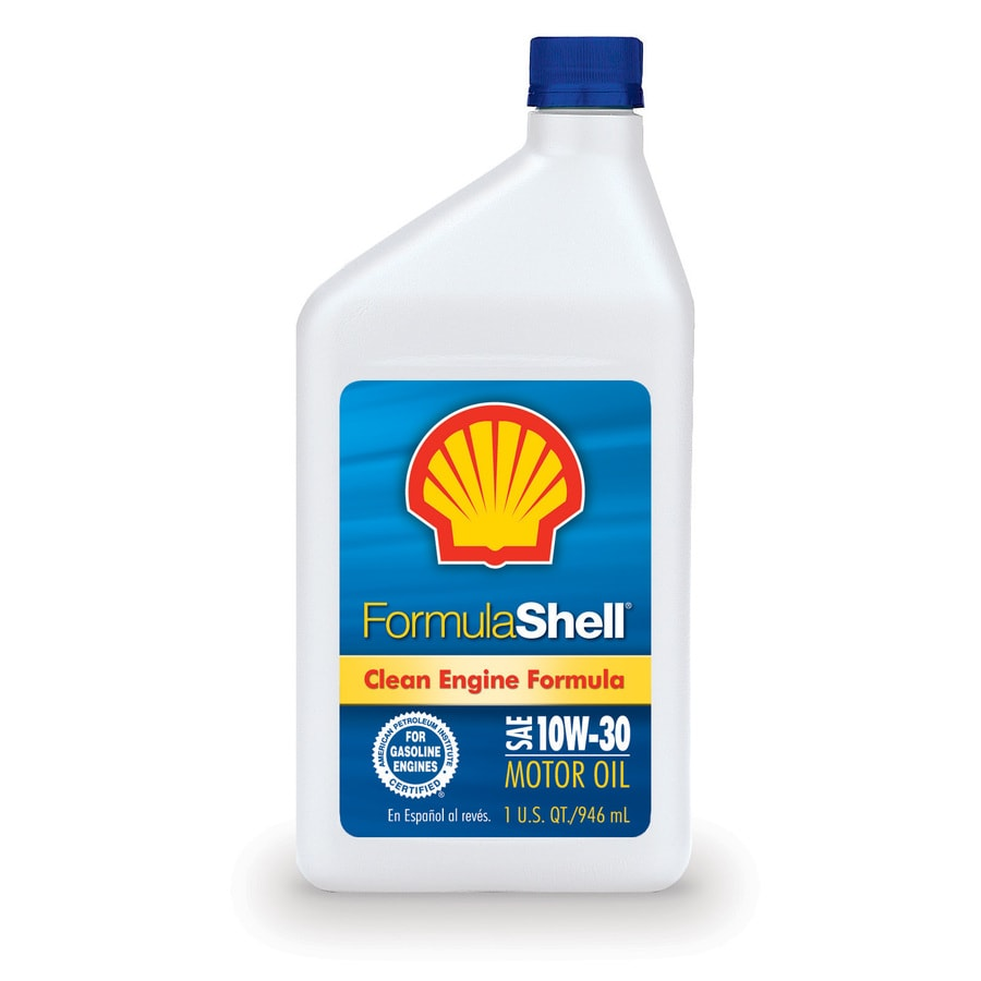 Shell Products 32-oz 4-Cycle 10W-30 Conventional Engine Oil