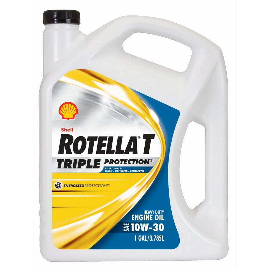 Rotella 128-oz 4-Cycle 10W-30 Conventional Engine Oil