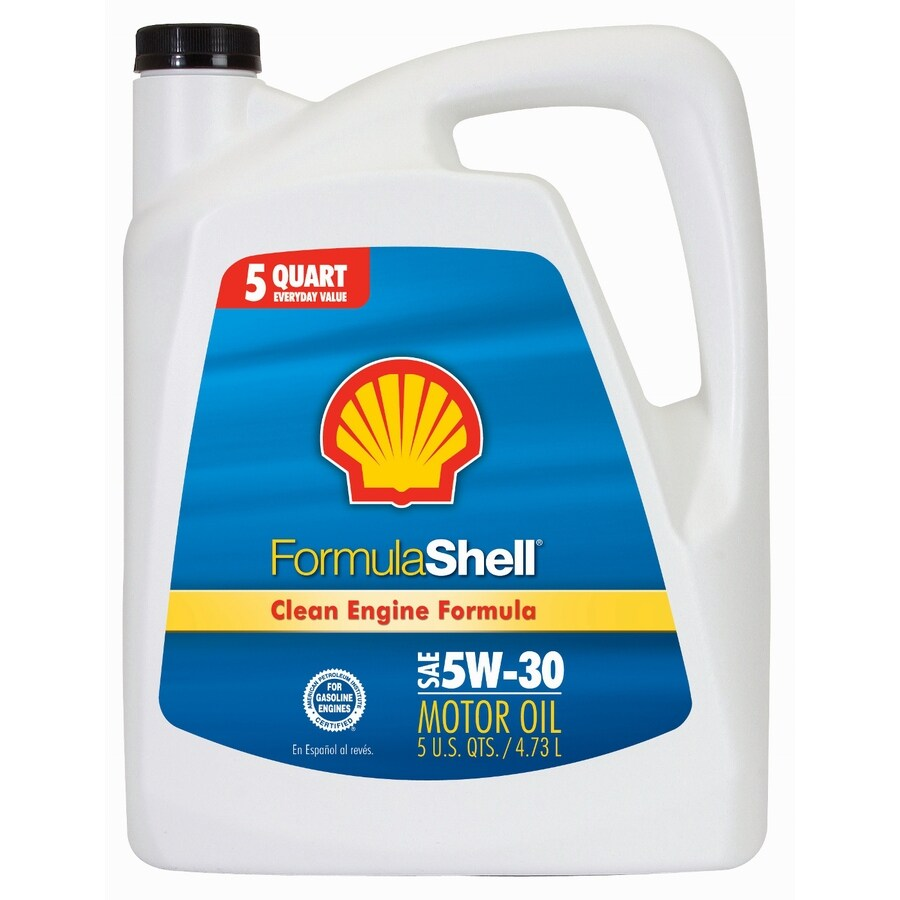Shell Products 160-oz 4-Cycle 5W-30 Conventional Engine Oil
