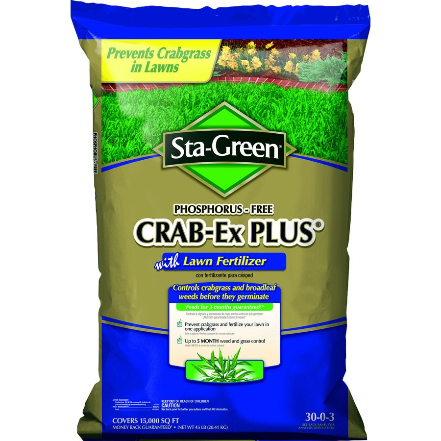 Sta-Green 15,000-sq ft Sta Green Crabgrass Preventer + Fertilizer