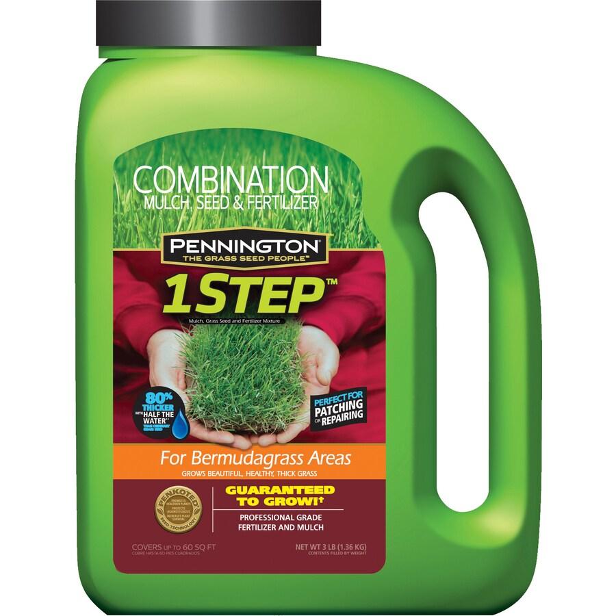 Pennington 1 Step Complete 3 lbs Sun Bermuda Grass Seed Mixture