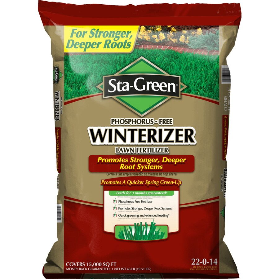 Sta-Green 43 lbs Lawn Fertilizer