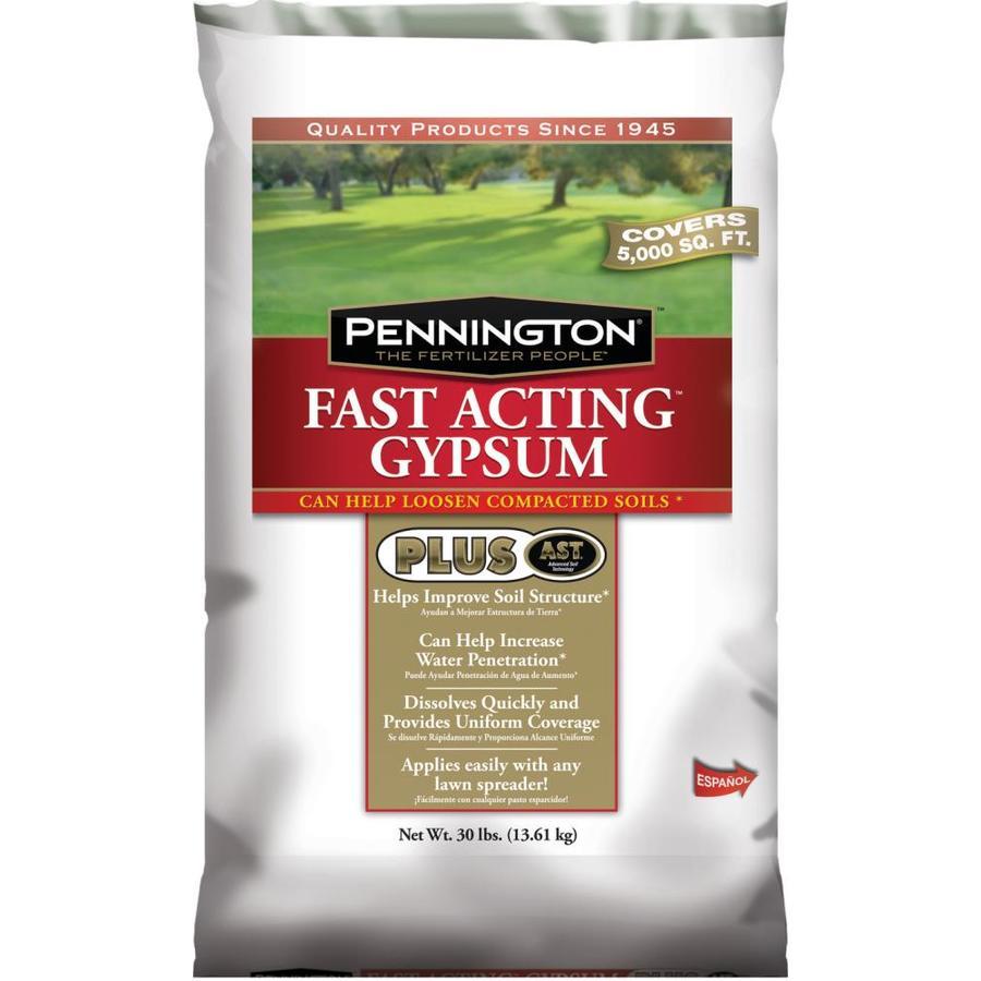 Pennington 5,000-sq ft Fast Acting Gypsum Lawn Fertilizer