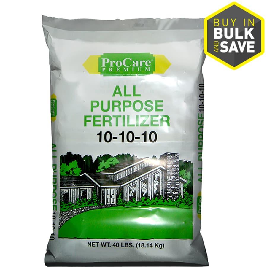 Pennington 5,000-sq ft Pro Care Lawn Fertilizer (10-10-10)
