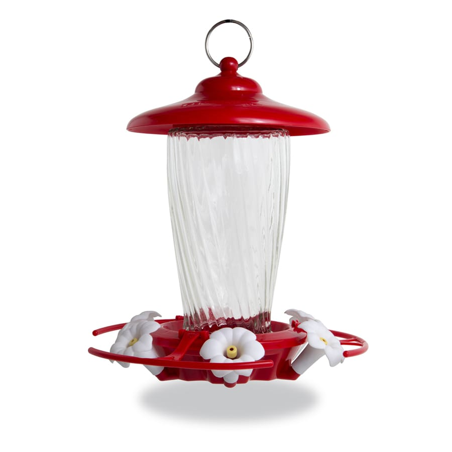 Pennington Glass Hummingbird Feeder