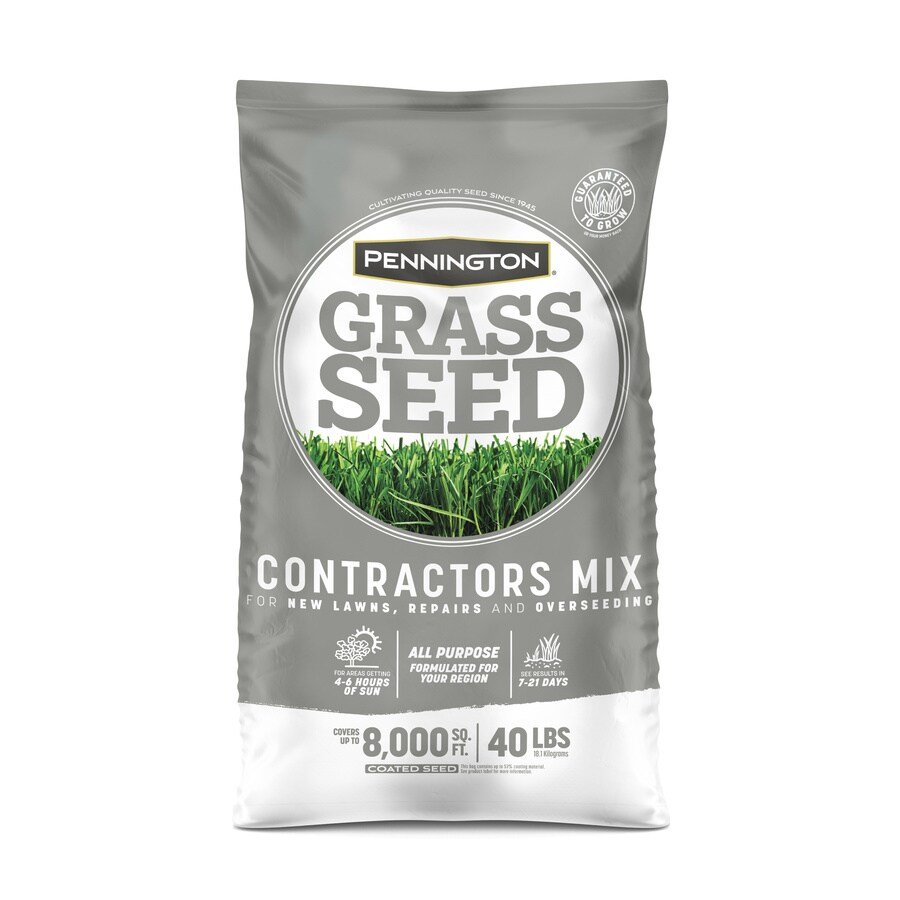 Pennington Contractor's Mix 40-lb Sun and Shade Grass Seed