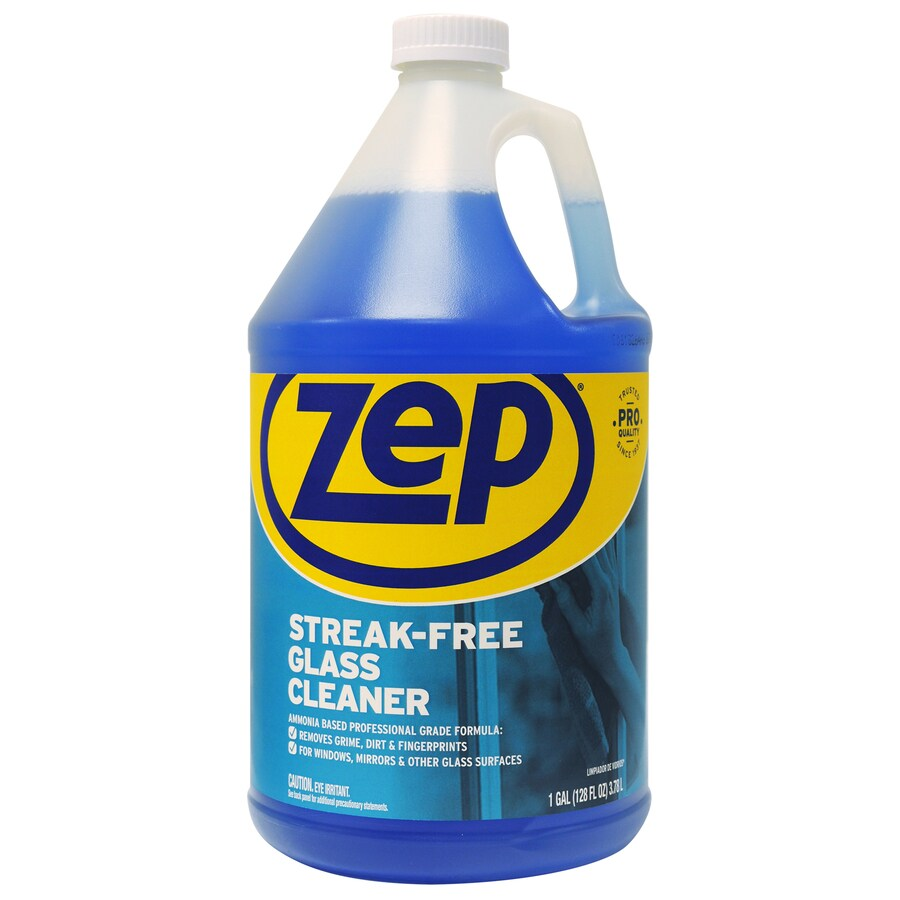 Zep Commercial Streak-Free 128 fl oz Glass Cleaner