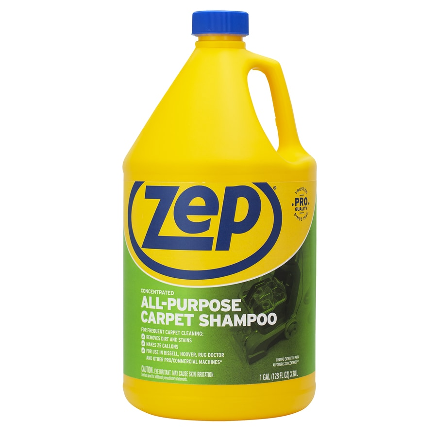 Zep Commercial Extractor Carpet Shampoo Concentrate 128-oz Carpet Cleaner