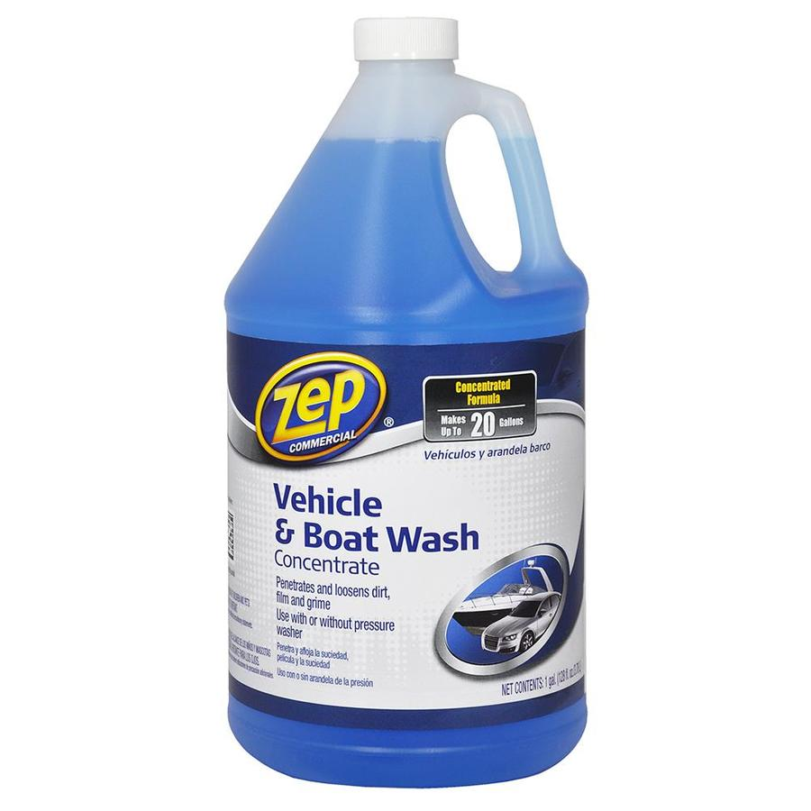 Zep Commercial Car Wash Cleaner Concentrate 128-oz