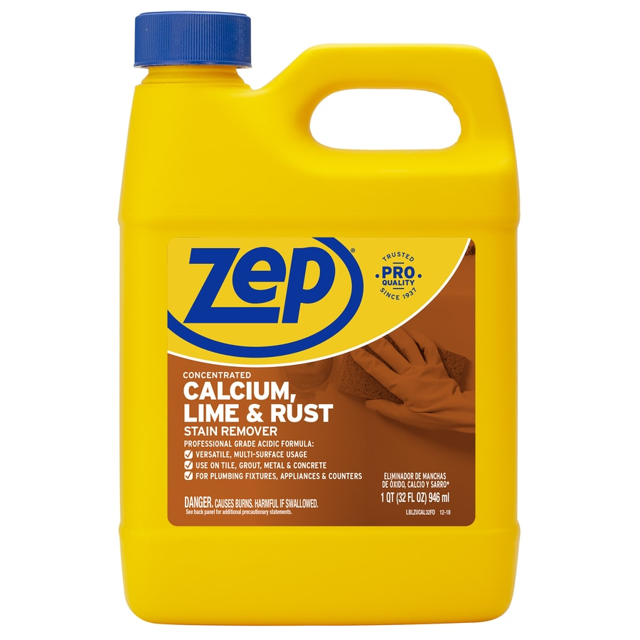 Zep Commercial Calcium, Lime and Rust Stain 32-fl oz Rust Remover