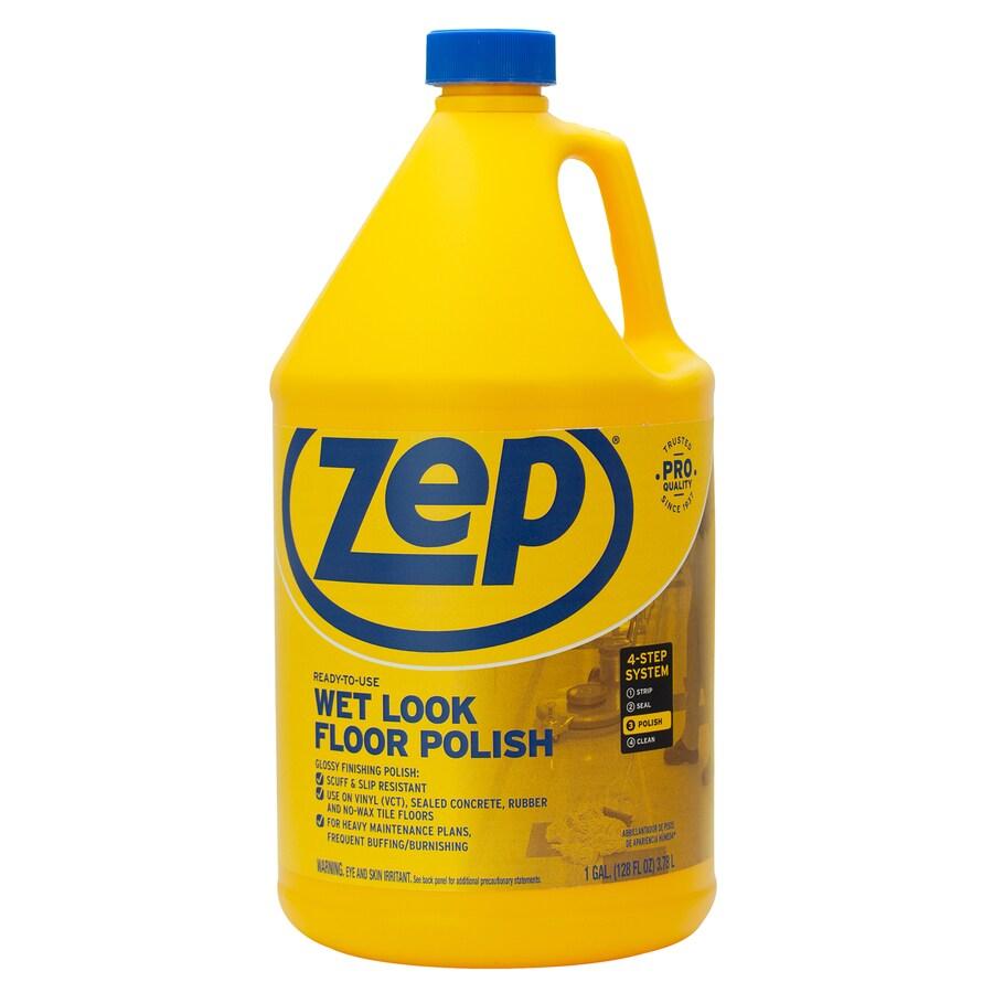 Zep Commercial 128-oz Wet Look Floor Polish
