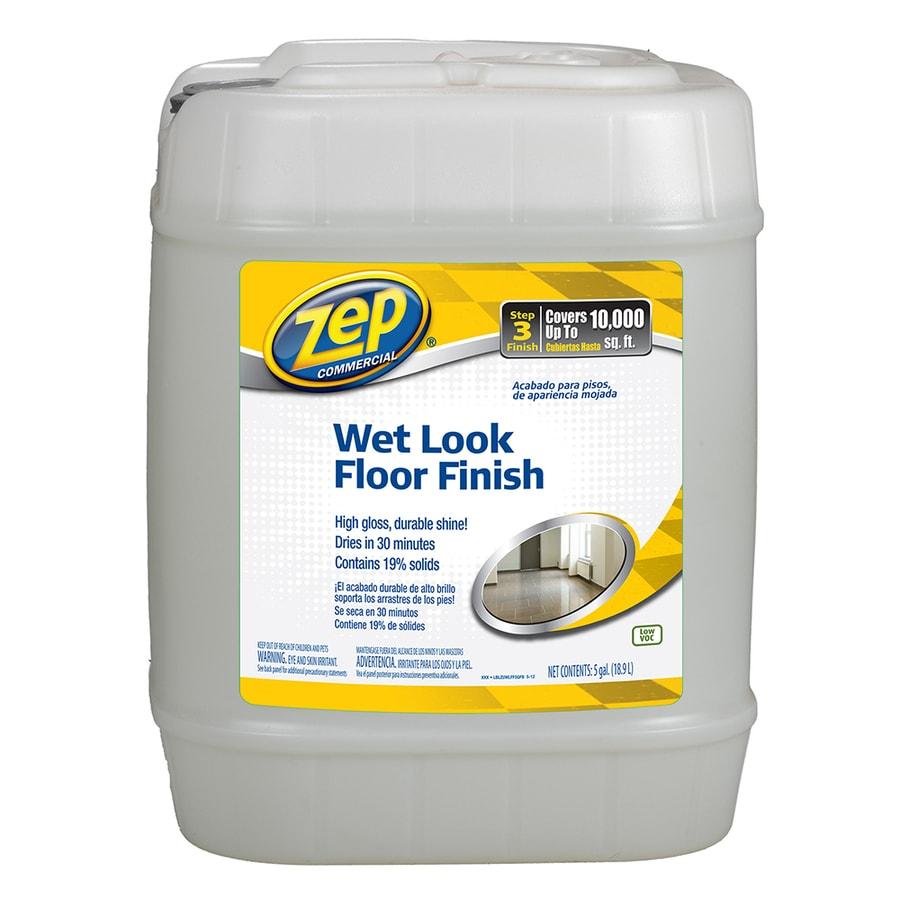 Zep Commercial Wet-Look 5-Gallon Floor Polish
