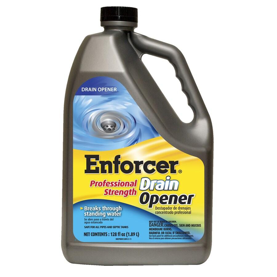 ENFORCER 128 oz Professional Strength Drain Opener