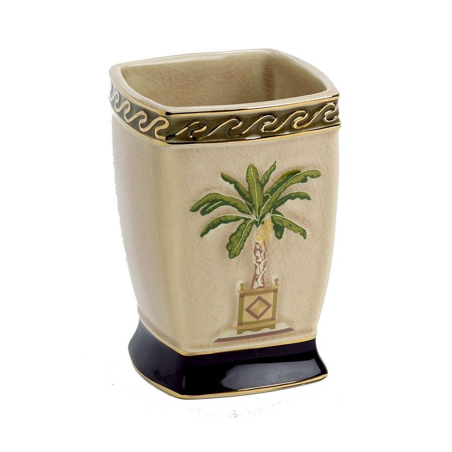 Avanti Banana Palm Linen Ceramic Tumbler