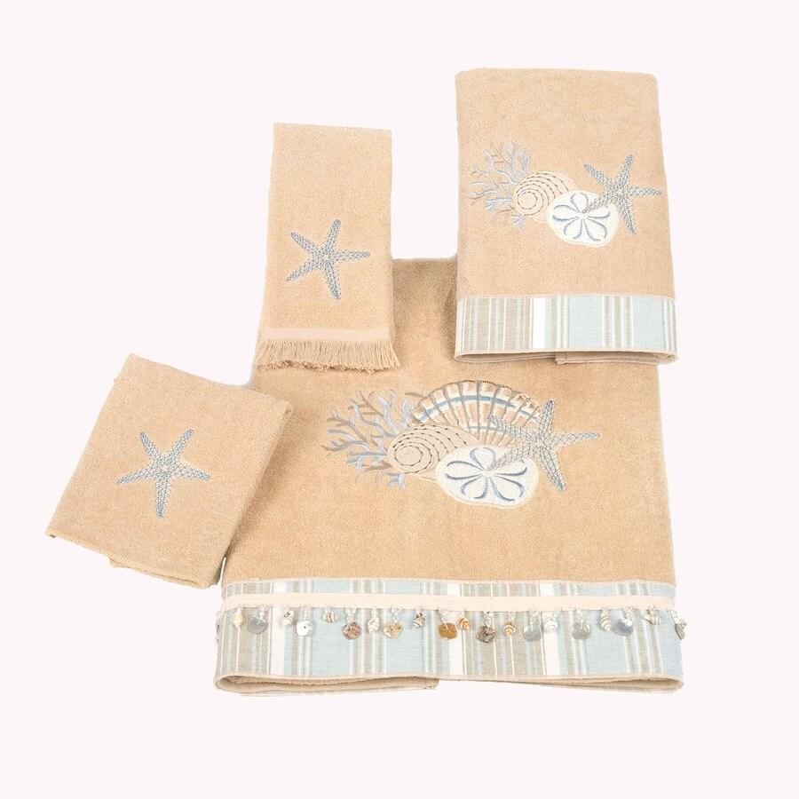 Avanti Rattan Cotton Bath Towel Set
