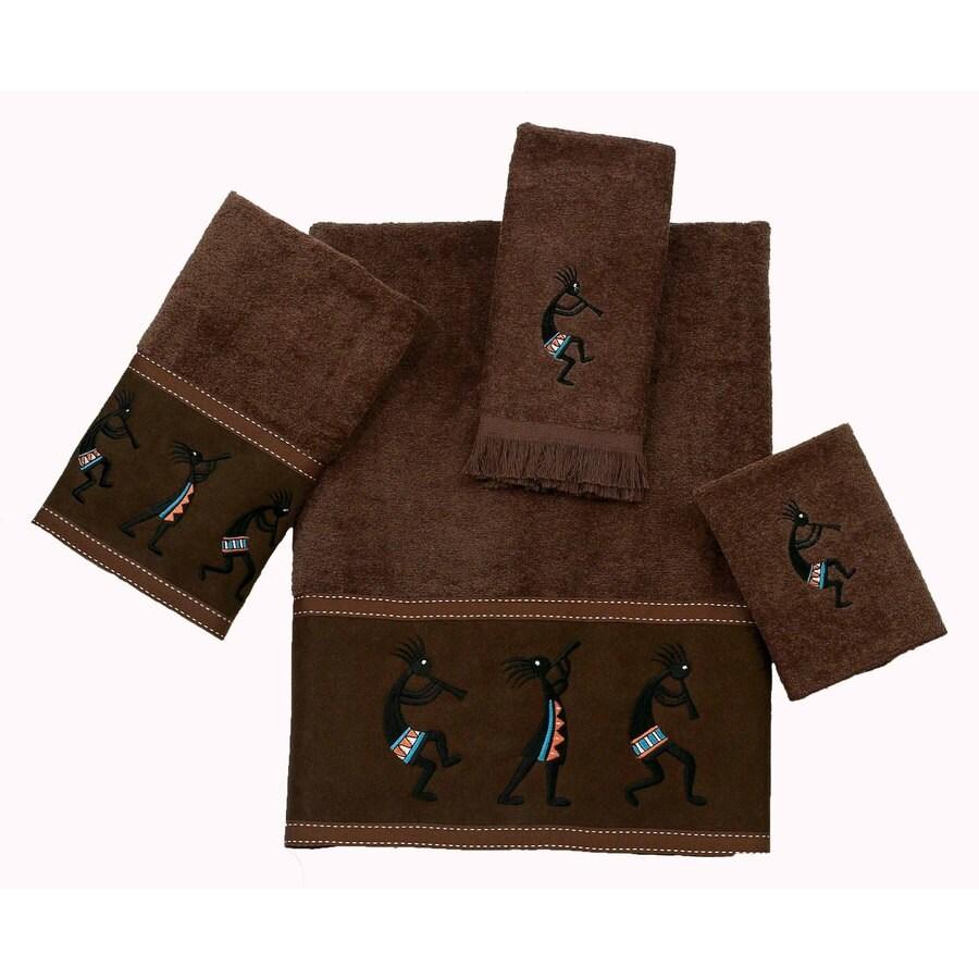 Avanti Mocha Cotton Bath Towel Set