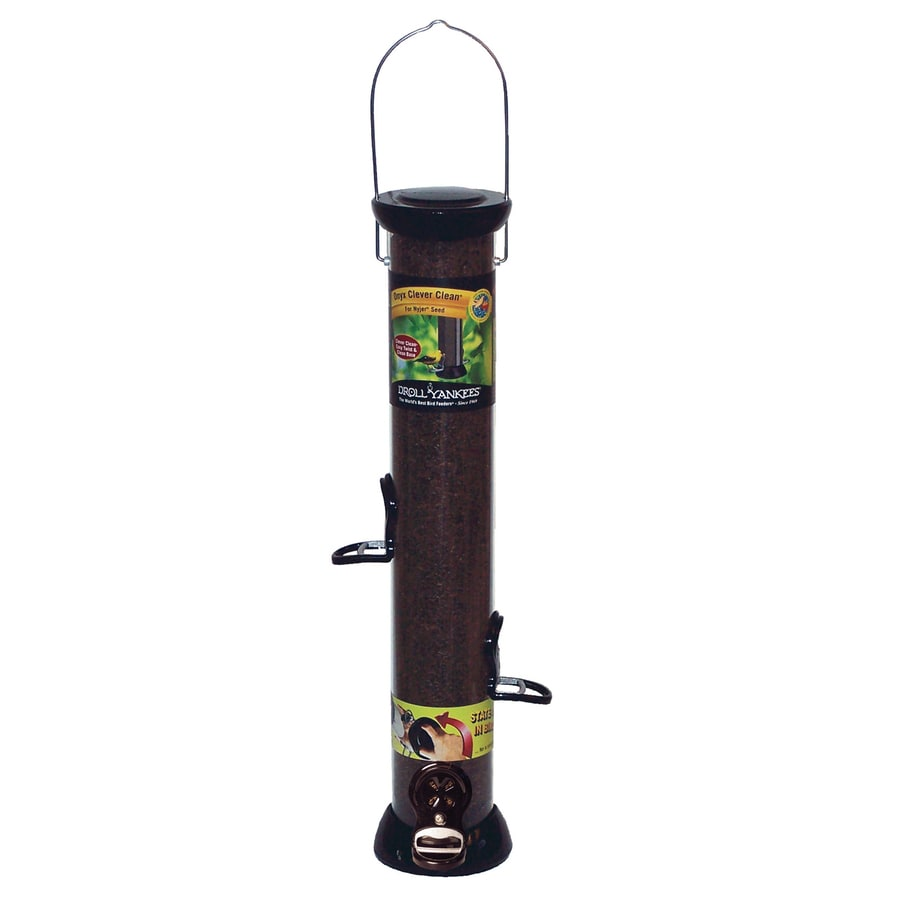 Droll Yankees Thistle Nyjer Plastic Squirrel-Resistant Tube Bird Feeder