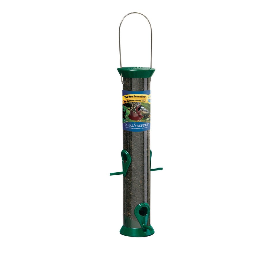 Droll Yankees Plastic Tube Bird Feeder