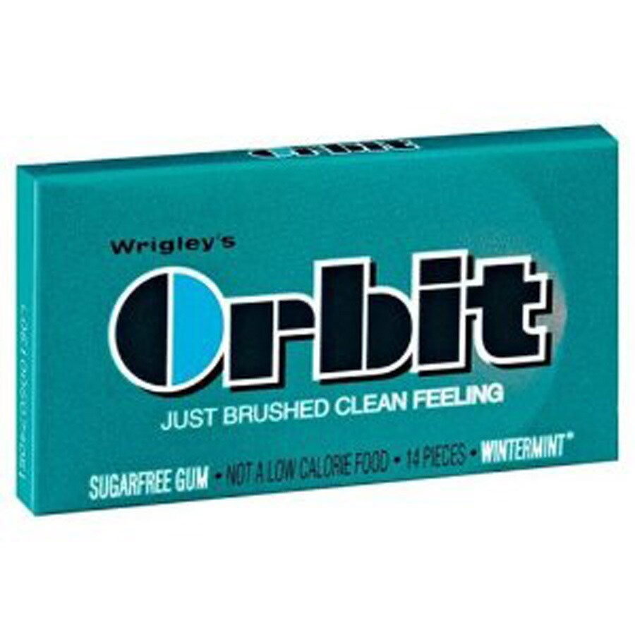 Wrigley 14-Stick Orbit Wintermint Chewing Gum