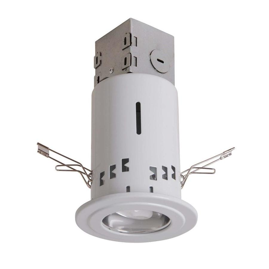 Utilitech White Remodel and New Construction Recessed Light Kit (Fits Opening: 3-in)
