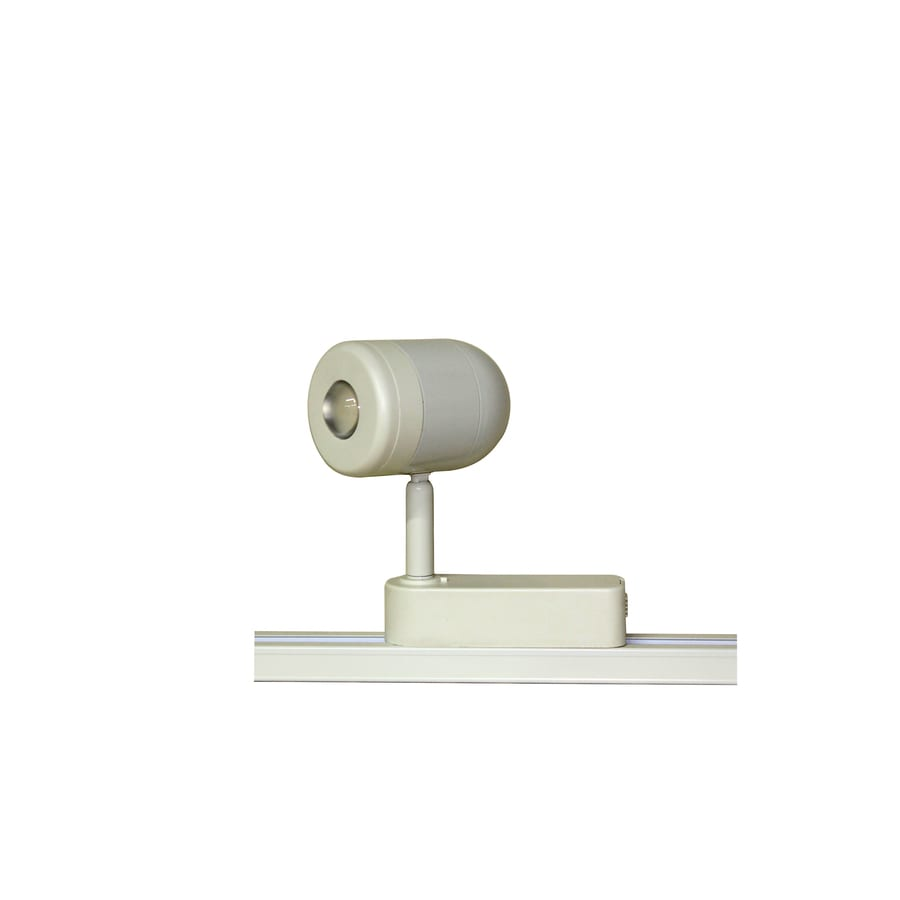 Portfolio 1-Light White Roundback Linear Track Lighting Head