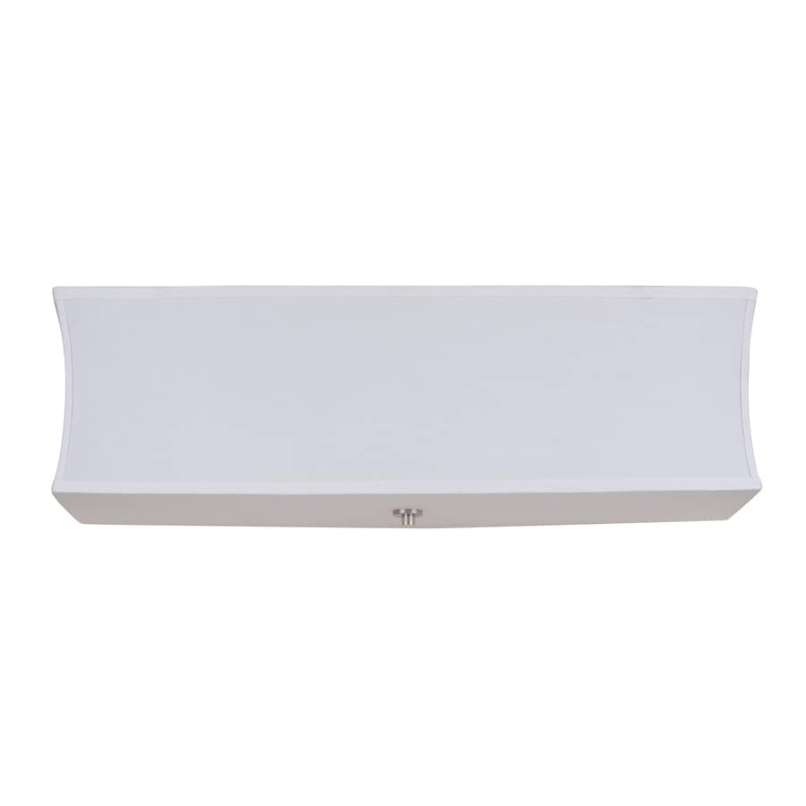 Catalina 4-Light White Bathroom Vanity Light