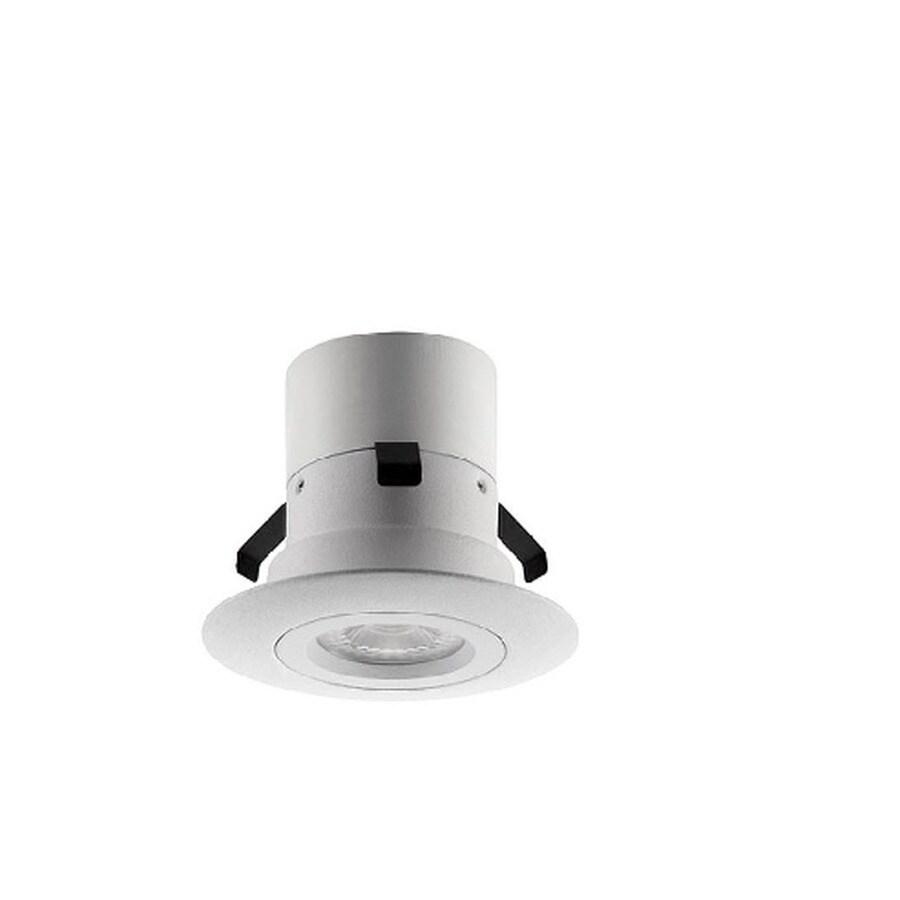 Utilitech Pro 50-Watt Equivalent White LED Recessed Retrofit Downlight (Fits Housing Diameter: 3-in)
