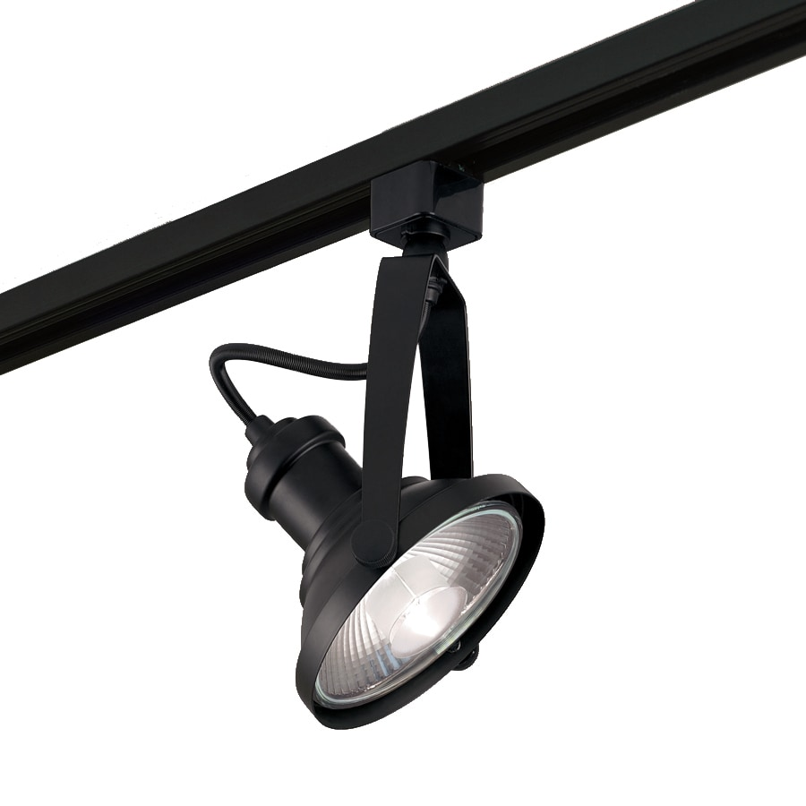 Track Light Heads: Shop Project Source 1-Light Dimmable Matte Black Gimbal