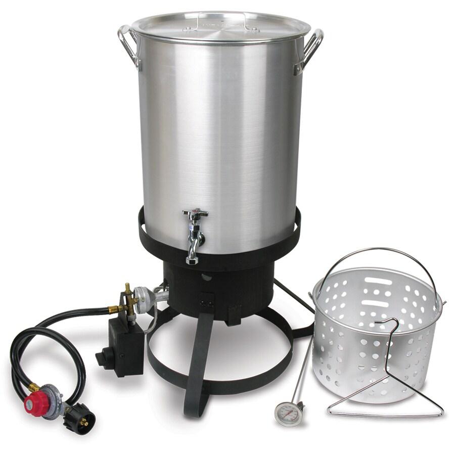 Gas Fryer With Griddle Gas ~ Shop cajun injector quart lb cylinder manual