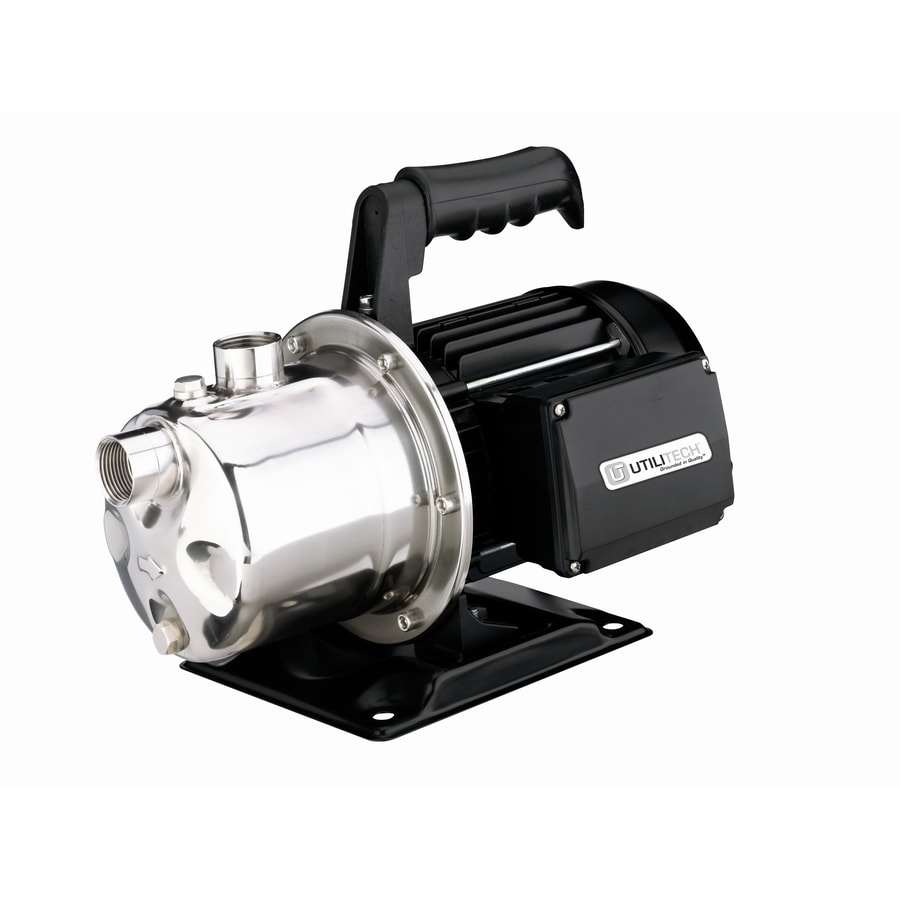 Utilitech 1-HP Stainless Steel Lawn Pump