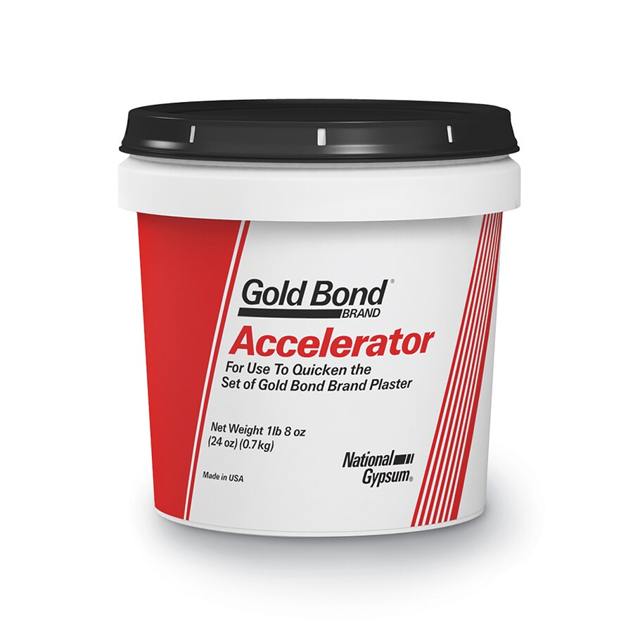 Shop gold bond accelerator lb bucket at for Gold bond drywall