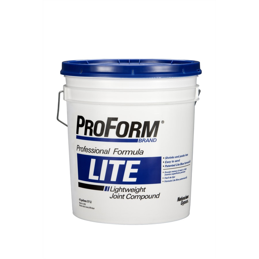 Shop proform lite 4 5 gallon premixed lightweight drywall for Bathroom joint compound