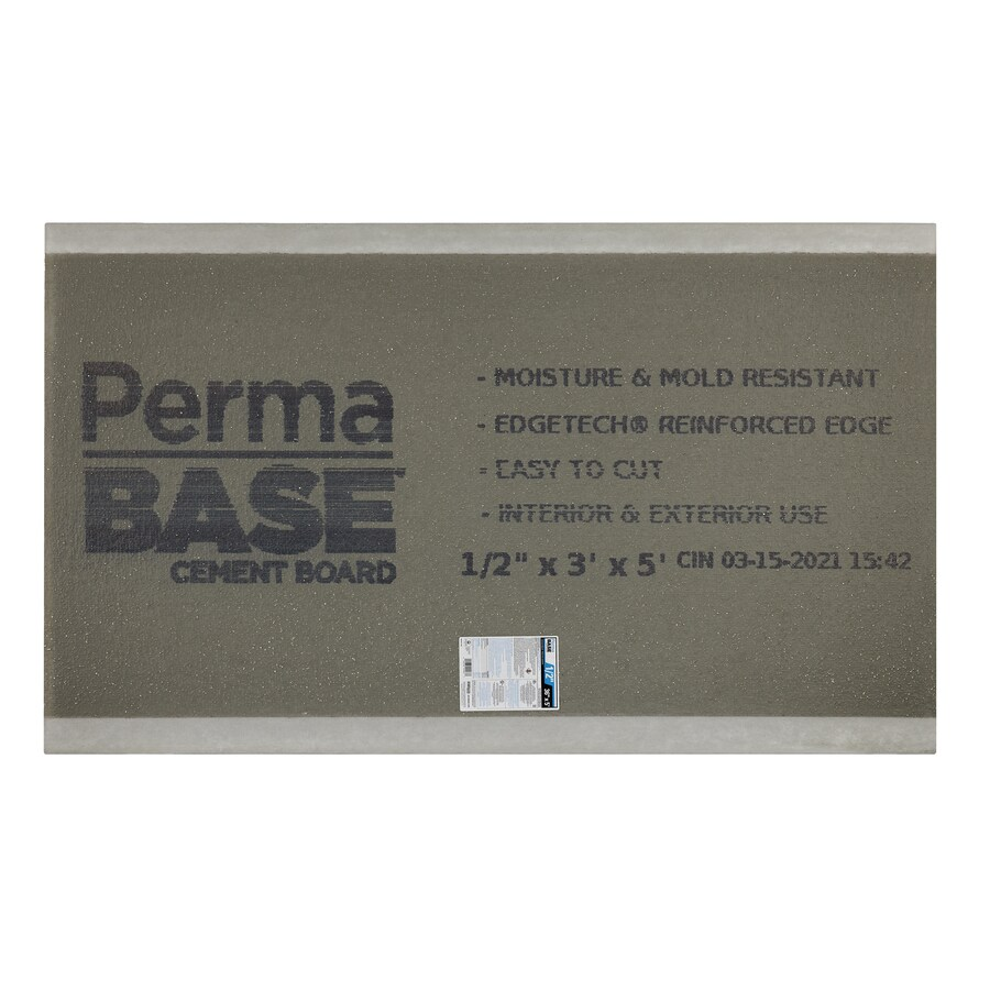 PermaBase 0.5-in x 36-in x 60-in Cement Backer Board
